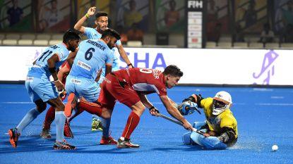 Red Lions en gastland India houden mekaar in evenwicht op WK hockey na match met twee gezichten