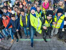 'Wereldberoemde' lichtstreepjes Bodegraven weer aan en mogelijk komen ze op meer plekken