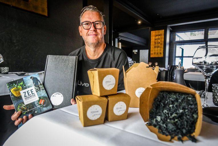 Donald Deschagt verkoopt nu ook zeegroenten via de webshop Wier-do.