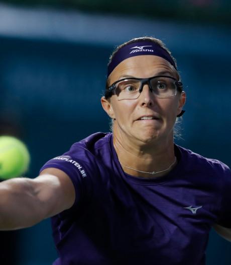 Kirsten Flipkens échoue en quart de finale à Séoul