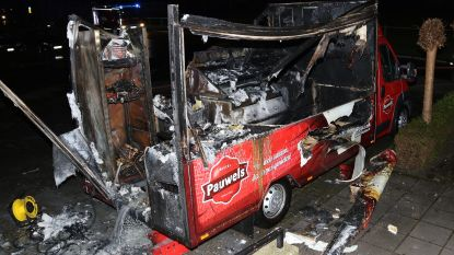 Mobiel frietkraam brandt uit op verjaardagsfeest