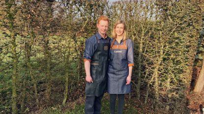 Piepjong en klaar voor droomzaak: Arne (24) en Haynee (23) openen Slagerij Carne