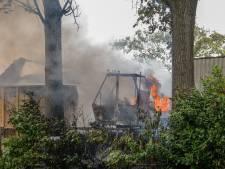 Opnieuw voertuig in brand op Rijksstraatweg in Dordrecht