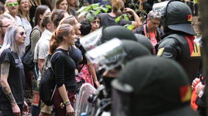 Opnieuw arrestaties in Duits bos dat plaats moet ruimen voor mijnbouw