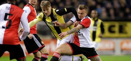 Vitesse en Feyenoord gelijk in boeiend, maar matig voetbalgevecht