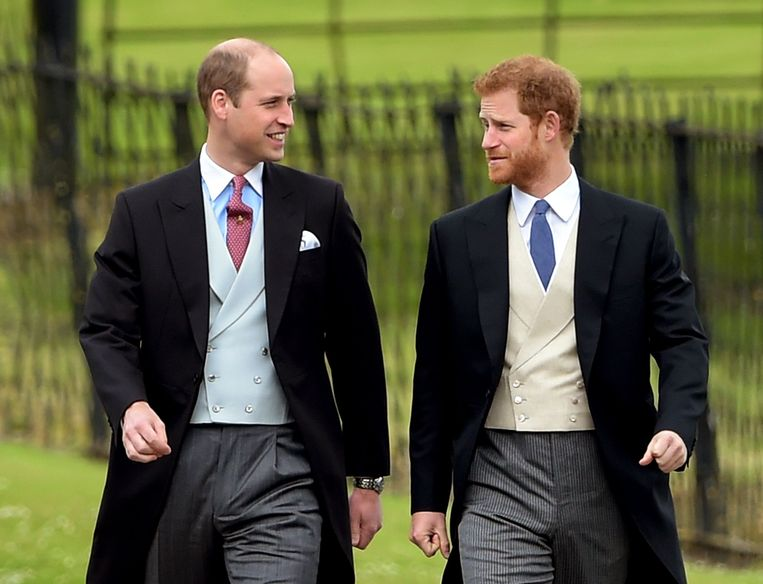 William en Harry.