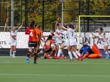 Vrouwen Oranje-Rood op achterstand in play-offs na verlies in eigen huis