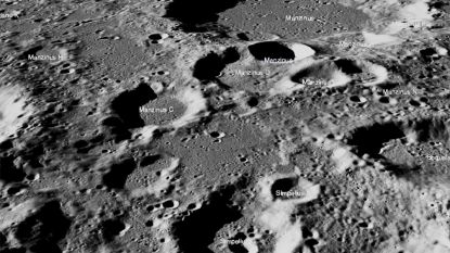 NASA: geen spoor van 'gecrashte' maanlander