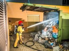 Veel rook in station Eindhoven door containerbrand