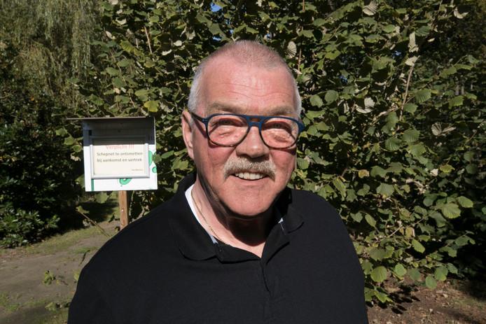 Voorzitter Hans Dings van Philips Hengelsport Vereniging uit Veldhoven