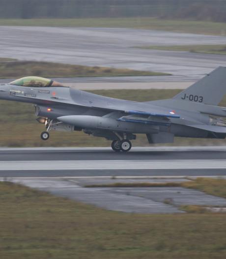 F-16's oefenen tien dagen lang vanaf Vliegbasis Eindhoven