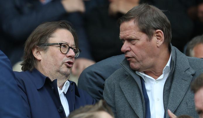 Voorzitter Marc Coucke (links) en Frank Arnesen