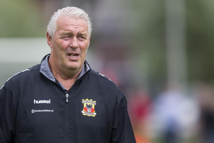 Go Ahead Eagles-trainer Hans de Koning. Foto: Pro Shots / Erik Pasman