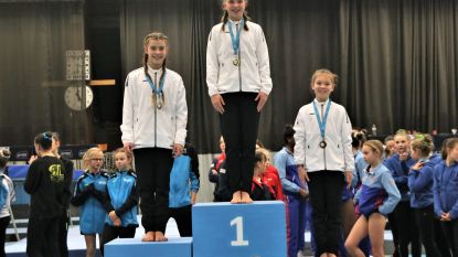 Koninklijke Turnkring Aalst pakt acht medailles op Oost-Vlaams kampioenschap tumbling