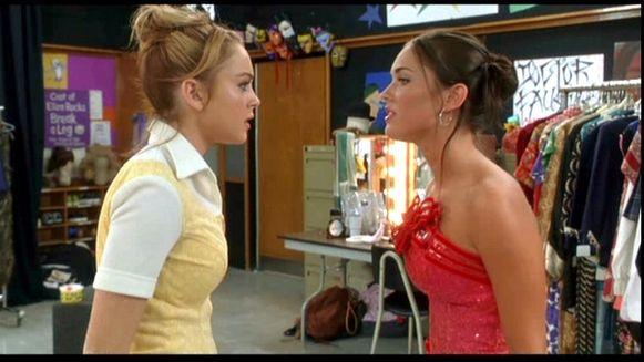 Lindsay Lohan en Megan Fox