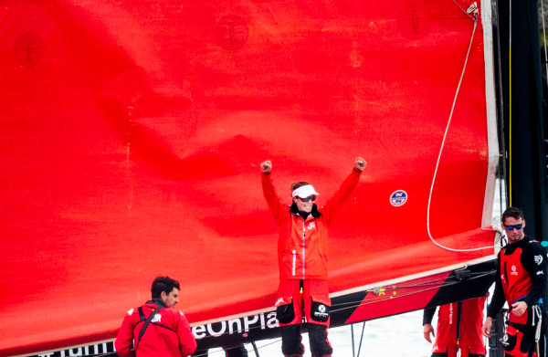 Frans-Chinees team wint Volvo Ocean Race na spannende finale