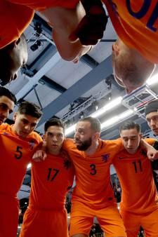 FC Eindhoven hofleverancier Oranje tijdens EK-kwalificatie