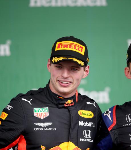 Jongste F1-podium ooit in São Paulo: Verstappen, Gasly en Sainz