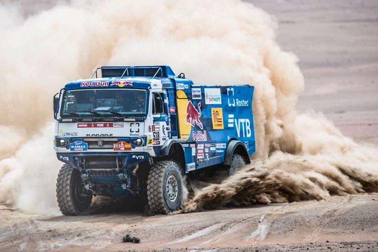 Karginov won de Dakar Rally in 2014.