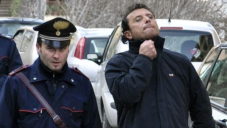 Francesco Schettino (R). Beeld ap