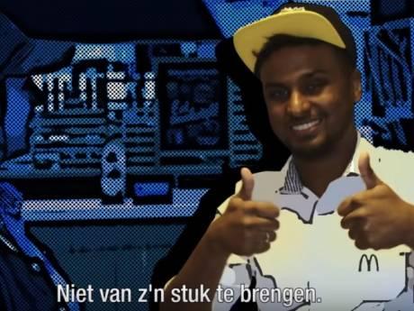 Evert ten Napel maakt manager McDonald's Bodegraven gek