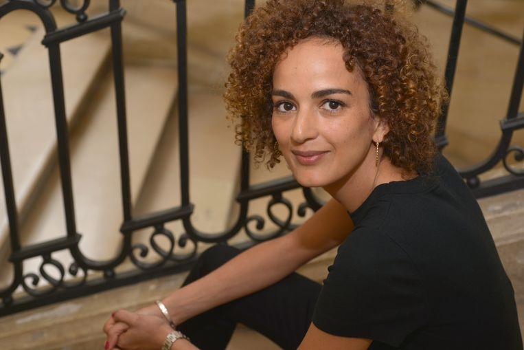 Leila Slimani.  Beeld Catherine Hélie