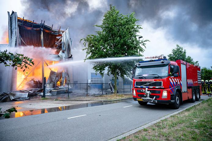 Brand Fire-up Oisterwijk