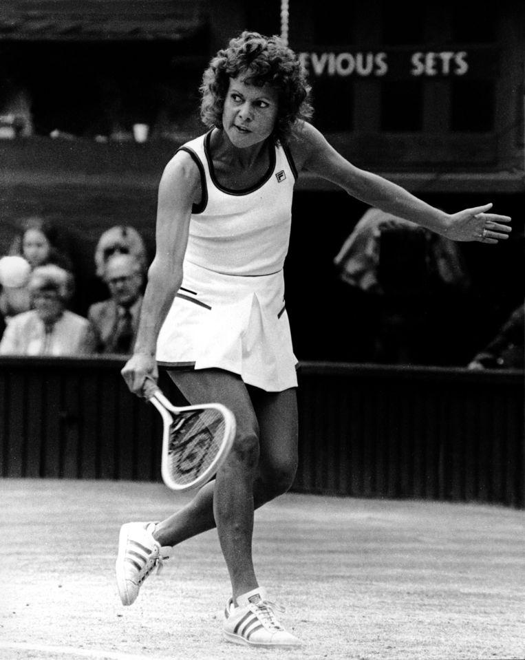 Evonne Goolagong Cawley in 1980.