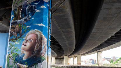 Graffiti-artiesten eren Julie Van Espen op plek waar ze werd vermoord