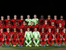 La nouvelle photo officielle des Diables Rouges n'enchante pas Michy Batshuayi