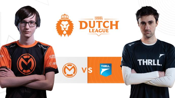 Het nog puntloze Team THRLL probeert vanavond die status in de Dutch League te doorbreken tegen mCon Esports.