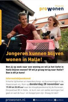 Jongeren uit het dorp gaan voor bij toewijzen van huizen in Halle