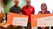 Dulle dorpsdagen verdelen 8.000 euro aan parochiezaal De Kring en basisschool Heikant