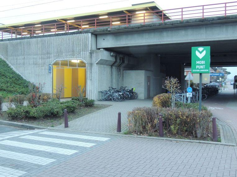 Het eerste Mobipunt van Nevele staat aan Landegem-station.