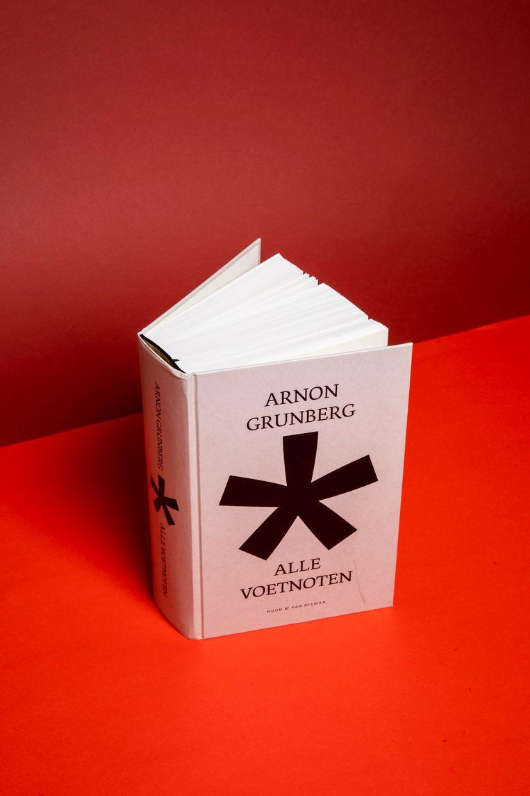Arnon Grunberg, Alle voetnoten. Beeld Studio V