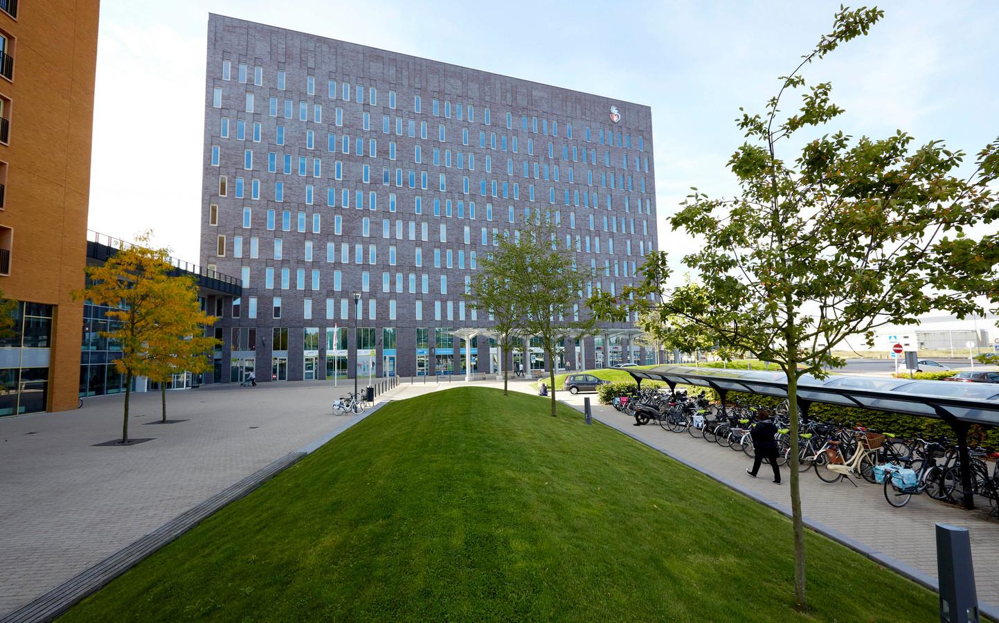Exterieur van het Albert Schweitzer ziekenhuis in Dordrecht.