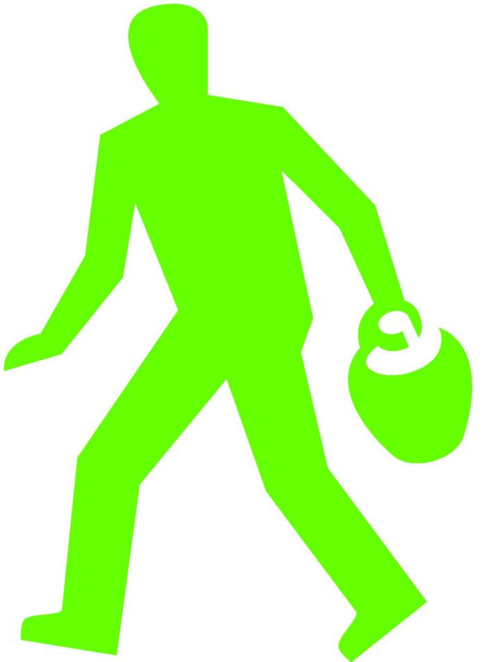 De kruikenzeiker als het groen is, het rode mannetje blijft nog een week geheim.
