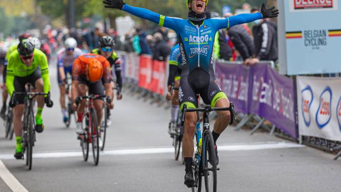 """Stijn Siemons op BK snelste van negen: """"Fantastisch om vreemd seizoen zo af te sluiten"""""""