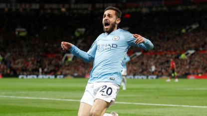 LIVE. City virtueel weer op kop in Premier League! Bernardo Silva verrast De Gea in korte hoek