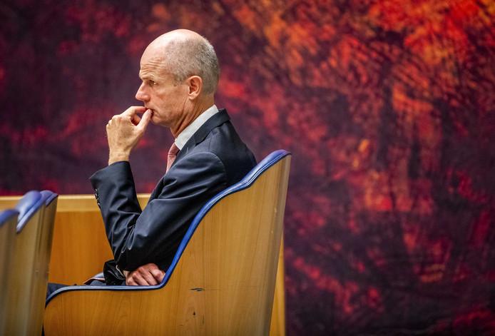 Stef Blok, minister van Buitenlandse Zaken, afgelopen dinsdag tijdens het Vragenuurtje in de Tweede Kamer.