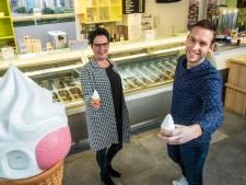 Bas' (25) droom komt uit: hij heeft eigen ijssalon in Heerde