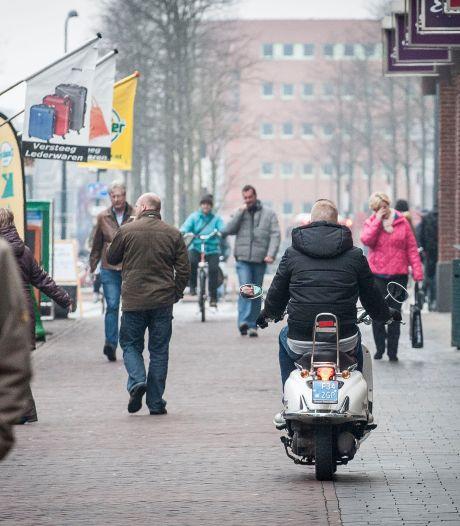 Toch snel scooterverbod in centrum Enschede: per 1 september