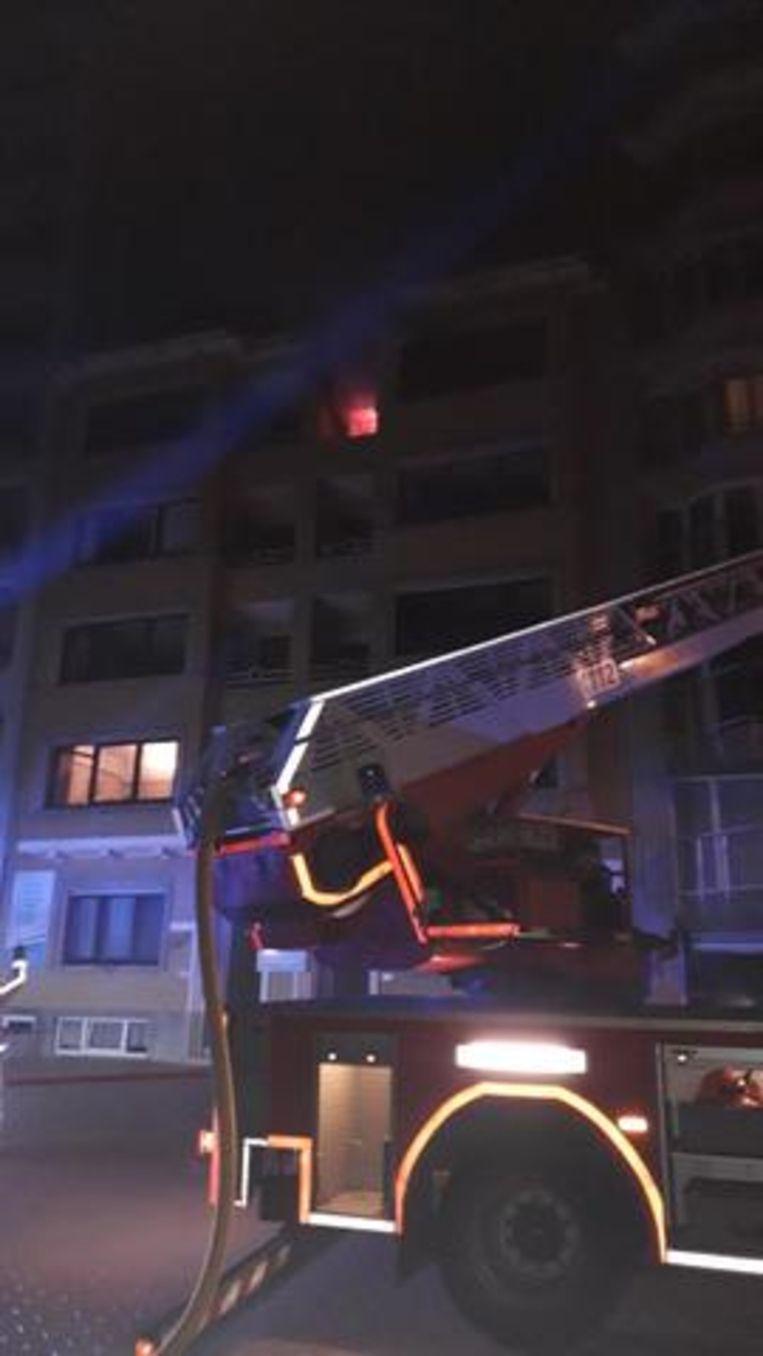De uitslaande brand woedde op de vierde verdieping van het gebouw, dat in september onder de sloophamer gaat.