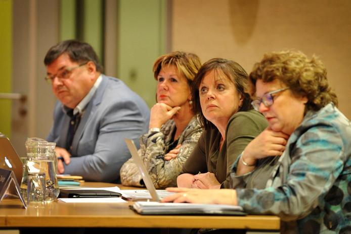 Raadsvergadering wethouders Dinkelland
