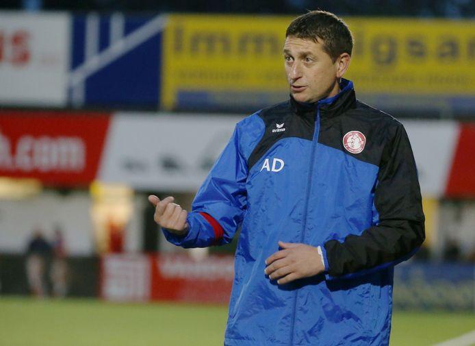 Allan Deschodt, hier afgebeeld in de kleuren van FC Gullegem, keert volgend seizoen terug naar de club waar het voor hem allemaal begon.
