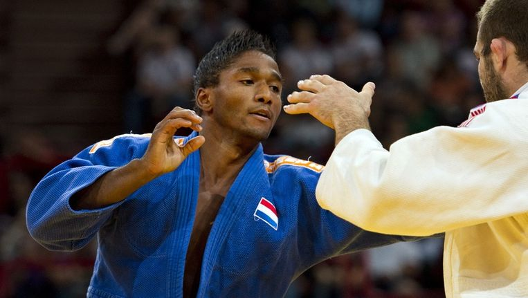 Judoka Guillaume Elmont. Beeld anp