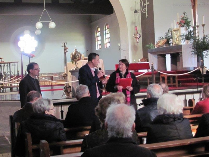 Inloopuurtje in kerk Velddriel
