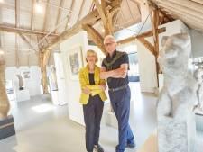 Optimisme bij galerie en beeldentuin A-quadraat in Vorden: 'Het was druk met Pinksteren, dat stemt ons hoopvol'