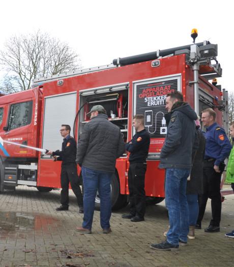 'Helden' voor Waspikse brandweer houden zich schuil
