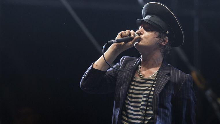 Babyshambles gaf begin juli een gratis concert in Parijs.